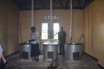 Masindi Centre for the Handicapped - Stoves donated by FOAG