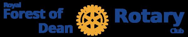 Royal Forest of Dean Rotary Club support FOAG via their Spring Half Marathon - Royal Forest of Dean Rotary Club Logo
