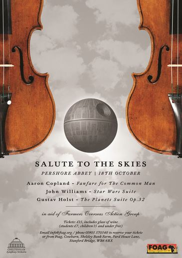 Salute to the skies with the CSO -